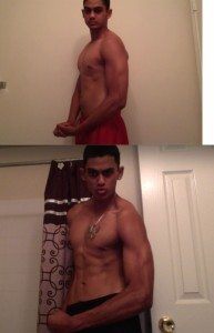 Brandon Ramlal abs