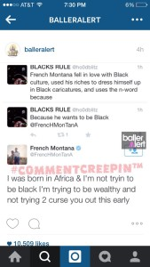 French Montana tweet.