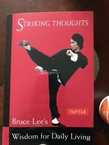 Bruce Lee's Striking Thoughts