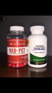 red pct and stinging nettle root